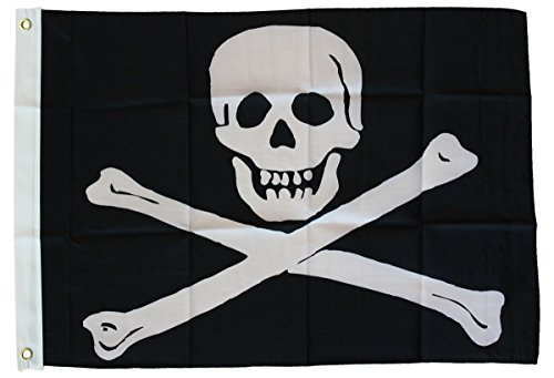 Jolly Roger - 3'x5' Pirate Flags