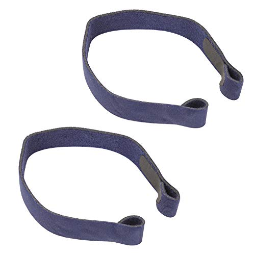 Swift FX and Nano CPAP Nasal Pillow Mask Soft and Comfortable Replacement Headgear Strap 2 Pack – Blue by Neust