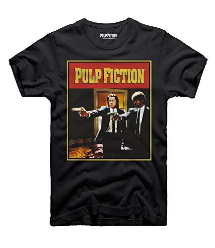Pulp Fiction T-Shirt Cover Vincent Vega & Jules Winnfield (XL)