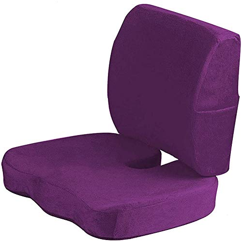 XER Wheelchair Cushion Comfortable Chair Cushion of Office Chair Ideal for Prolonged Sitting Helps Relieve Tailbone and Sciatica Pain Prevent Hemorrhoids Bedsore