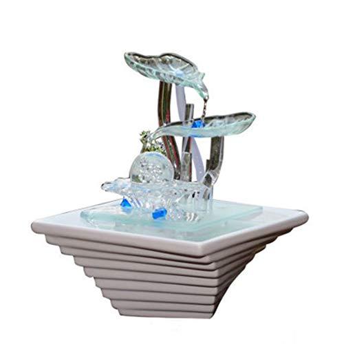 LSHUAIDJ Keramische transfer bal Aquarium vis tank woonkamer water luchtbevochtiger kantoor fontein ornamenten huis decoraties