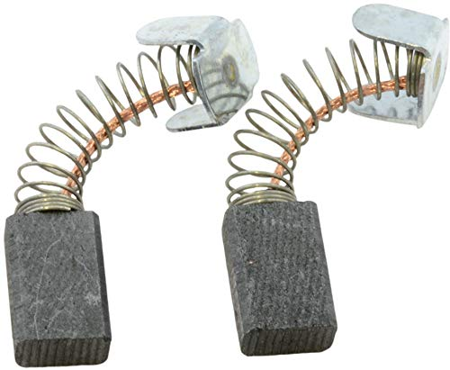 Carbon Brushes for Makita 6013BR Powertools - With Spring, Cable and Connector - Replaces 181021-2 & CB-51