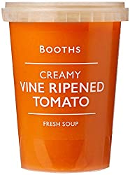 Booths Creamy Vine Ripened Tomato Fresh Soup, 600g