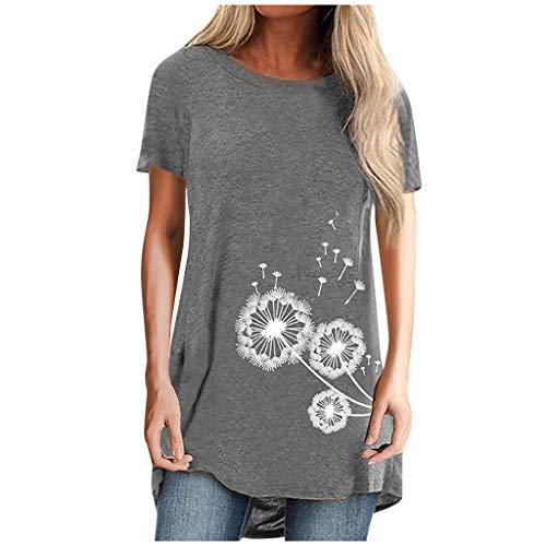 Amphia - Angel-Hemden & T-Shirts für Damen in Grau, Größe S
