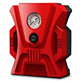 ZWYSL Inflador de neumáticos Digital con luz LED Bomba de Coche Compresor de Aire Bomba de Aire portátil for Coche for Coche, Bicicleta, Motocicleta, Otros inflables (Color : B, Size : Pointer)