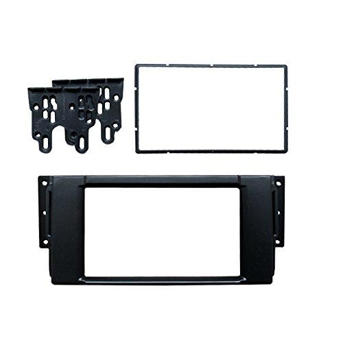 FEELDO Kit de montage de façade d'autoradio 2DIN pour CD/DVD de voiture (A: 173 x 98 mm)