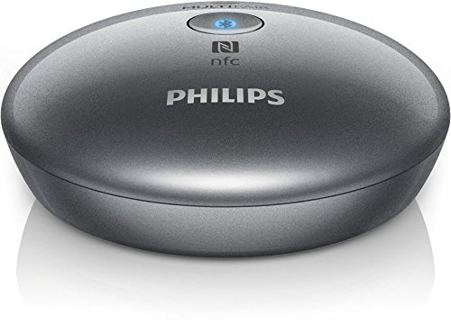 PHILIPS AUDIO AEA2700/12 Bluetooth Hifi-Adapter mit Optical Out (NFC, Multipair) silber