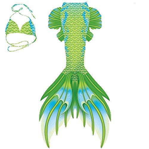 WWWFZS Conjunto con Cola De Sirena, Baño COS Traje De Baño Traje De Sirena Sirena,Tamaño Personalizado Traje de Sirena Baño de Bikini (Color : Picture 2)
