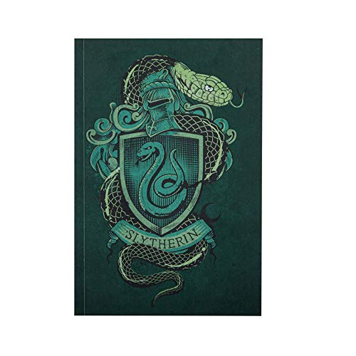 Cinereplicas - Harry Potter - Carnet Serpentard 120p - Licence Officielle