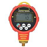 Manometro Digitale Portatile, 1~0~40pa Air Vacuum/Gas Manometro Differenziale Meter Tester...