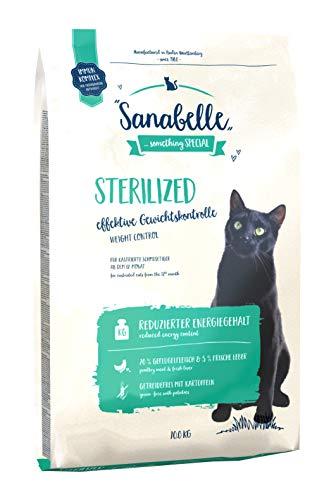Sanabelle Sterilized Cibo Secco per Gatti Sterilizzato - 10000 g