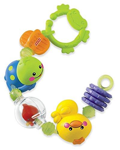 Mattel Fisher-Price N2862-0 – Rasselkette, Spielzeug ab 3 Monaten