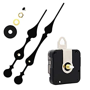 Youngtown 12888 Quartz DIY Wall Clock Movement Mechanism DIY Repair Parts Replacement Fit Dials up to 40 cm(15.7 Inches ) in Diameter.