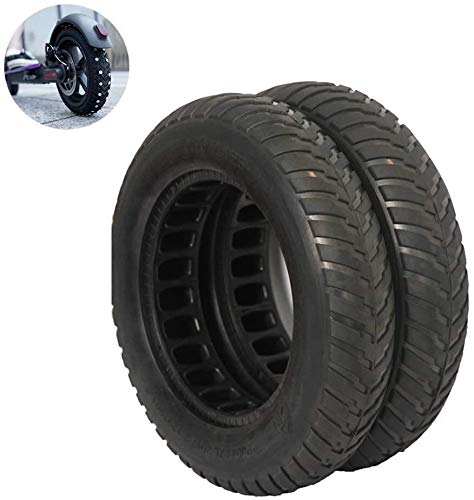 Neumáticos Scooter eléctrico, Llantas de nido de abeja sólidas, resistentes al desgaste y resistente a los pinchazos, sin necesidad de mantenimiento, accesorios del scooter eléctrico Neumáticos de sco