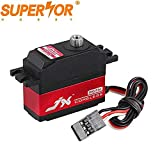 JX PDI-2506MG 6.6KG servo 25g Metal Gear digital Coreless motor for 1/16 scale steering WLtoys 12428 RC car 450 500 Helicopter Fixed wing Tower Hobbies Slow Ride 3D airplane