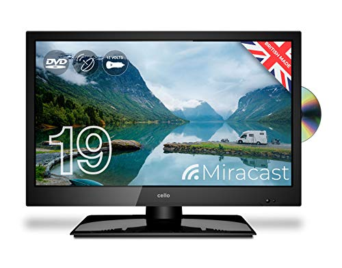 Cello 12 Volt 19' inch ZRTMF0291/C1920FMTR Traveller Satellite LED TV 2020 Model Made in the UK (New...