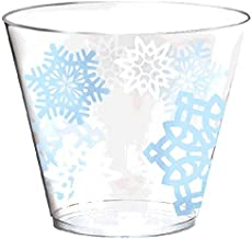 Snowflake Christmas Tumblers Drinkware Favour
