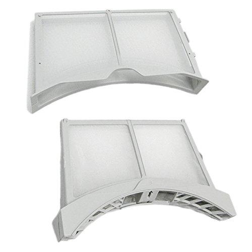 Spares2go pelusas Fluff jaula puerta interior & exterior Kit de filtros para LG secadora