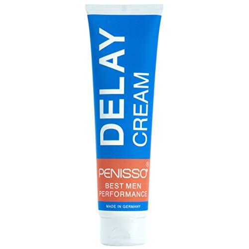Penisso Delay Creme I Orgasmus Verzögerungscreme für Männer – Made in Germany I Potenzmittel zum Auftragen auf den Penis, für ausdauerndes Sex-Vergnügen I Natürliche Zutaten, sanft zur Haut I 100 ml