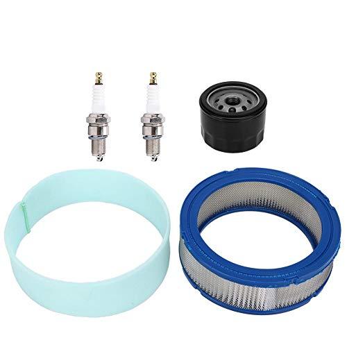 Luftfilter-Bausatz, Rasenmäher-Luftfilter-Ersatzzubehör Passend für Briggs & Stratton 394018 394018S 392642 Gartenwerkzeugteile