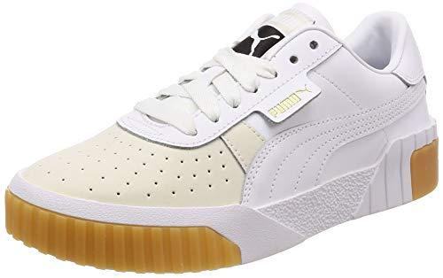 Puma Cali Exotic Wn's, Zapatillas para Mujer, Blanco White White 1, 37.5 EU