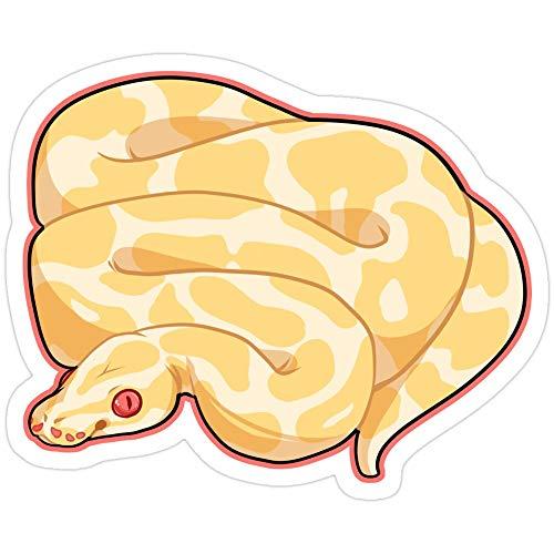 Vijk kor Albino Ball Python Stickers (3 Pcs/Pack)