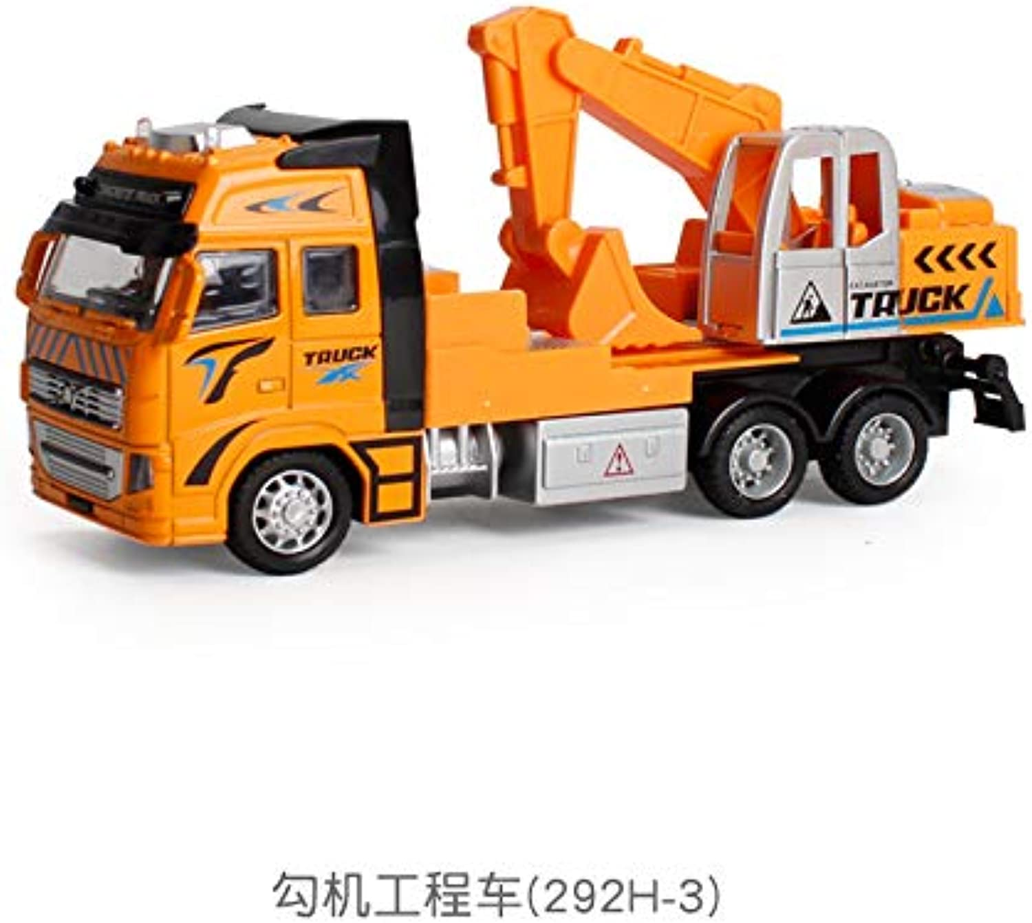 Generic 1 18 Toy Car Sliding Alloy Municipal Engineering Vehicle Model Fire Truck Car Model Excavator Garbage Truck Toy for Kids Gifts 13