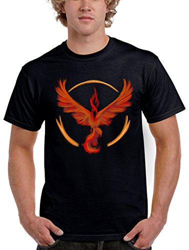 1558-Camiseta Pokemon Go Team Valor (Legendary P,)