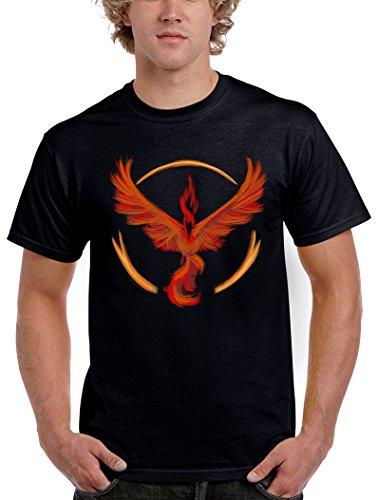 1558-Camiseta Pokemon Go Team Valor (Legendary P,)