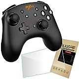 PXN スイッチ Pro コントローラー Nintendo Switch ジャイロセンサー NFC アミーボ ターボ フィルムセット PXN-9607S