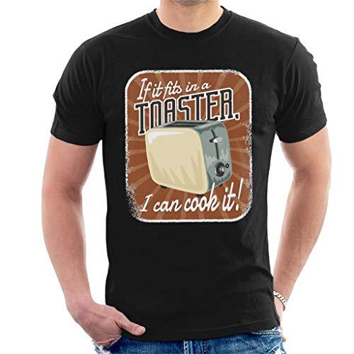 Als het past in een broodrooster kan ik het heren T-shirt koken