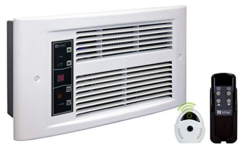KING PX2417-ECO-WD-R PX ECO2S 2-Stage Electric Wall Heater, 750-1750W / 240V, White Dove