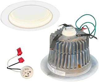 650 Lumens - 65W Equal - 12W LED - GU24 Base - Downlight - Fits 6 in. Can Light - Halogen Color - Cree LR6C-GU24