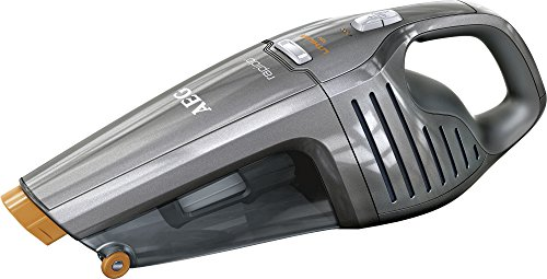 AEG Eco Li 35 Ultimates Rapido AG6120T Akkusauger (beutellos, Handstaubsauger mit 18 V Lithium-Power-Akku, Intelligente Ladeabschaltung, inkl. Fugendüse) Grau Metallic