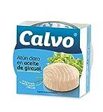 Calvo - Atún Claro en Aceite de Girasol, 80 gr, paquete de 24, total: 1920 gr