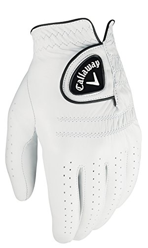 Callaway Men's Tour Authentic Golf Glove, Worn on Left Hand, Large, Prior Generation