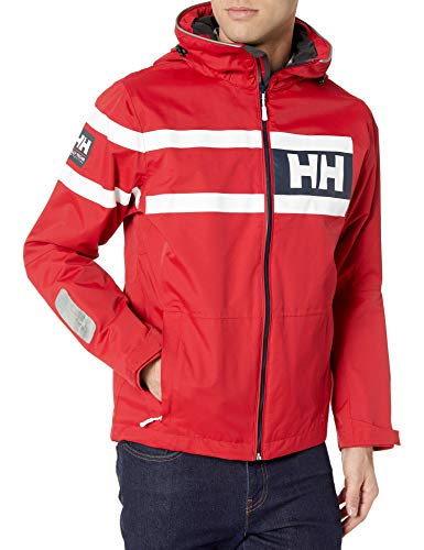 Helly Hansen Herren Jacke Salt Power, Red, M