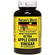 Ultra Apple Cider Vinegar 600 Milligrams 90 Capsules