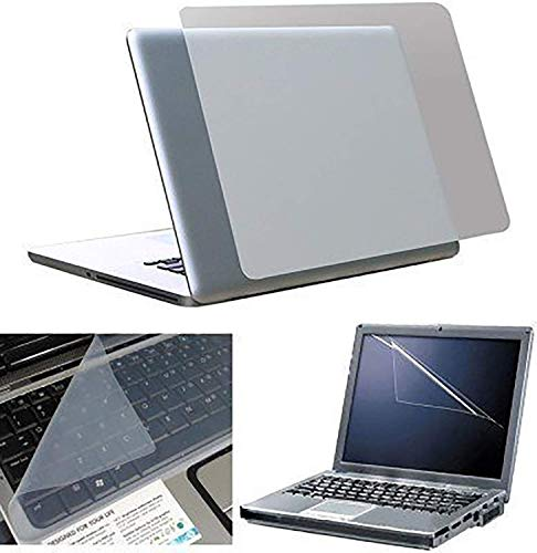 FEDUS 3 in 1 Combo - Laptop Screen Guard:; Keyboard Protector and Laptop Skin for All Laptops Laptop Accessories Combo Kit Size 15.6 (15.6 INCH)