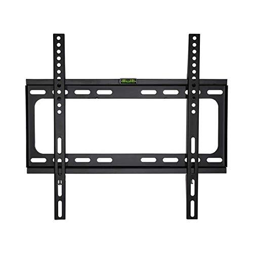 Soporte tv suelo Soporte de montaje en pared de TV de inclinación para televisores de pantalla plana de 26-55 pulgadas / TV curvados, soporte de TV de pared de bajo perfil TV - fácil de instalar, VESA
