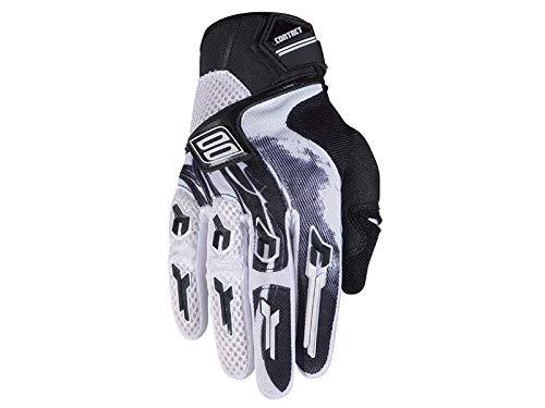 SHOT Cross Enduro handschoenen CONTACT kinderen MAORI zwart-wit maat 11/10/-11 jaar