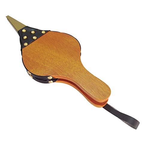 NBWS Haard blazer, hout handmatig opwinden bloem nagelrail Bellows slag vuur stof ontstoken proces pendel