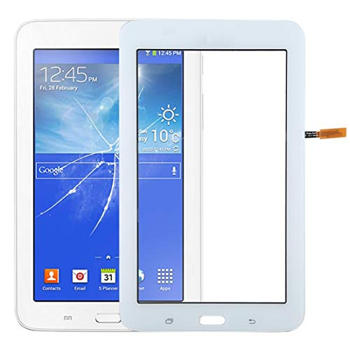 YUNCHAO Touch Panel Parts Touch Panel for Galaxy Tab 3 Lite 7.0 VE T113 Mobile accessories (Color : White)