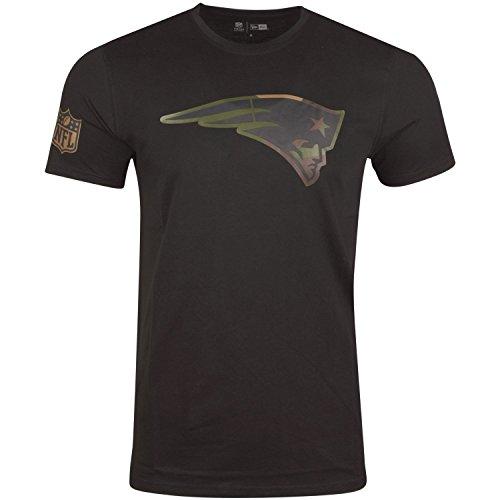 New Era Shirt - NFL New England Patriots schwarz/Wood - S
