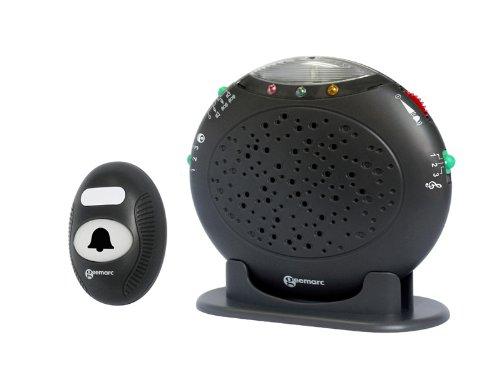 Geemarc Amplicall 20 De Visualización De Llamadas con El Sonido Y La Señal De Luz Led Y Timbre De Radio