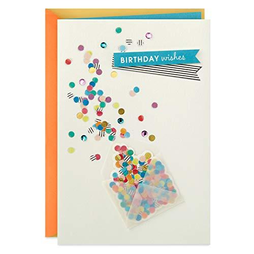 Hallmark Birthday Card (Envelope with Confetti)