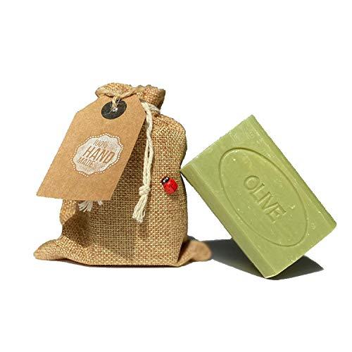 Savon de Castille Shampoing Solide Bio Made In France Pure Olive Enfants peaux sensibles Artisanal 215g