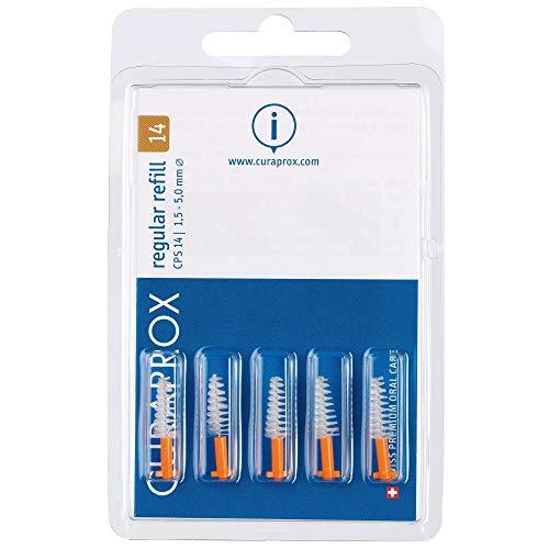 Curaprox CPS 14 regular Interdentalbürste orange, konisch, 1er Pack (1 x 5 Stück)
