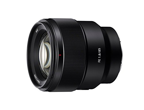 Sony SEL85F18 85mm F/1.8-22 Medium-Telephoto Fixed...