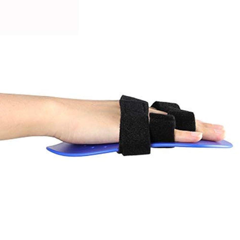 ログ材料コンプリートトリガー指副木、手首支持装置指セパレーター装具手根管関節痛緩和装具,Right Hand-S